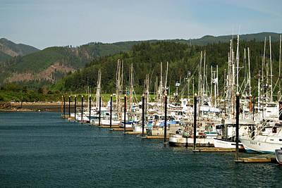 Garibaldi Oregon Marina Poster