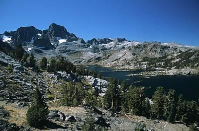 Garnet Lake And Banner Peak Poster