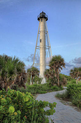 Poster featuring the photograph Gasparilla Island Lighthouse 2 by Donna Kennedy