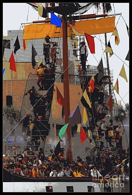 Gasparilla Ship Poster Poster