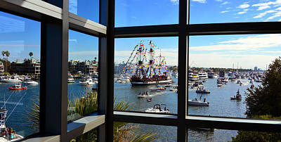 Gasparilla Through The Looking Glass Poster by David Lee Thompson