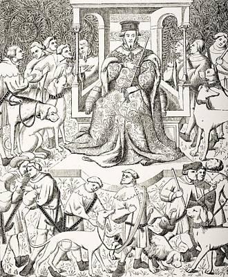 Gaston Phoebus 1331 To 1391 Teaching Poster