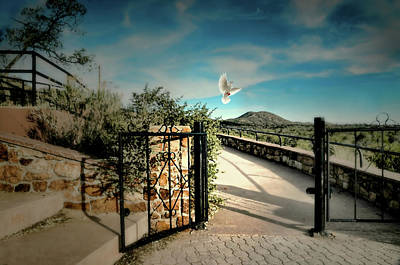 Gate To The Martyrs Poster by Diana Angstadt