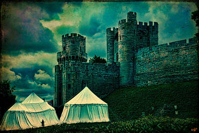 Gate Tower At Warwick Castle Poster by Chris Lord
