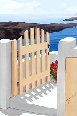Gateway To The Sea - Prints From My Original Oil Painting Poster