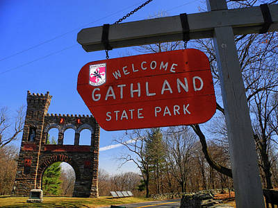 Gathland State Park In Maryland Poster by Raymond Salani III