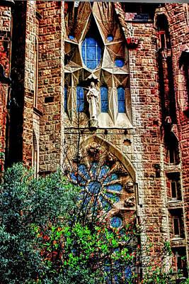 Gaudi Barcelona Poster