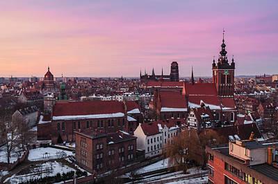 Gdansk 02 Poster by Tom Uhlenberg