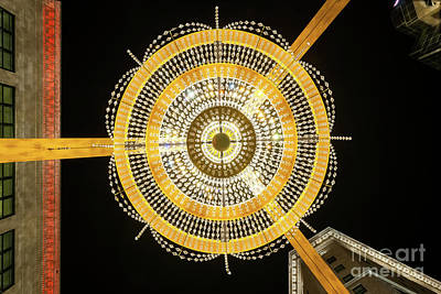 Ge Playhouse Chandelier Poster by Frank Cramer