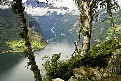 Geiranger Fjord Poster