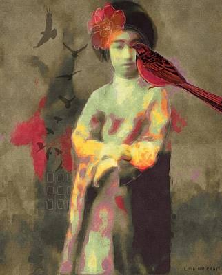 Geisha Poster by Lisa Noneman