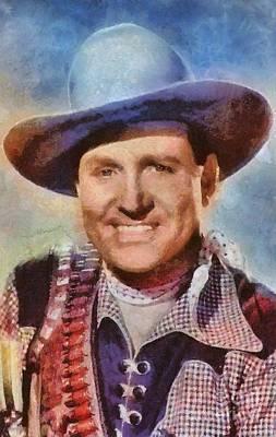 Gene Autry, Vintage Hollywood Western Legend Poster