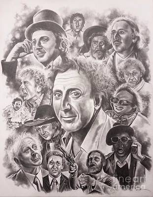Gene Wilder Poster by James Rodgers