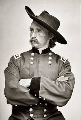 General George Armstrong Custer Poster by Bill Cannon