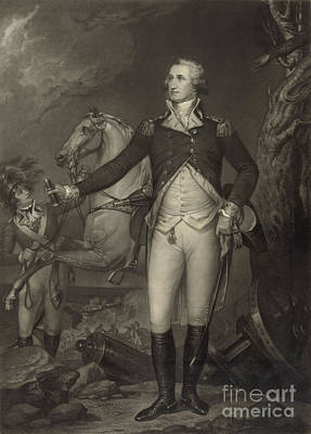 General George Washington, Battle Poster by Science Source