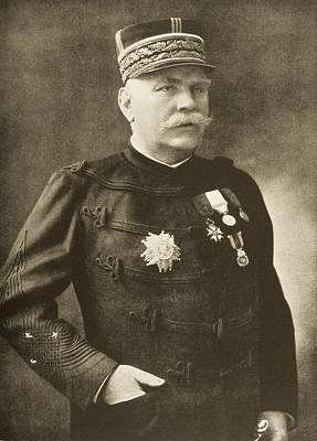 General Joseph Jacques Cesaire Joffre Poster by Vintage Design Pics