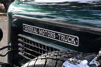 General Motors Truck Poster by David Lee Thompson