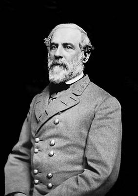 General Robert E Lee - Csa Poster by Paul W Faust -  Impressions of Light