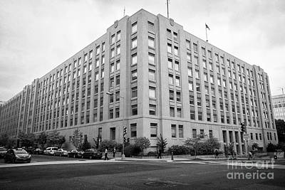 General Services Administration Nca Building Washington Dc Usa Poster