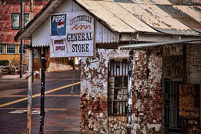 General Store Poster by Bonnie Bruno
