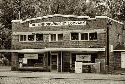 General Store - Vintage Sepia Poster