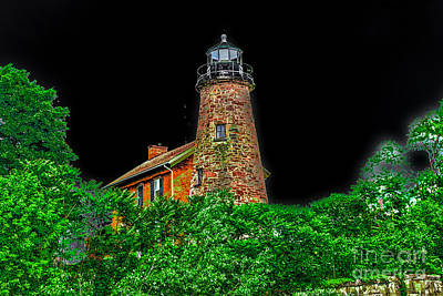 Genesee Lighthouse Poster