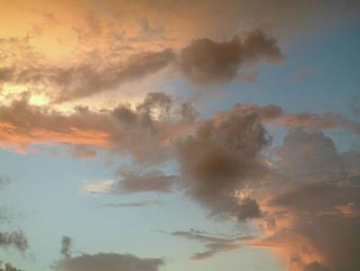 Gentle Clouds Gentle Light Poster