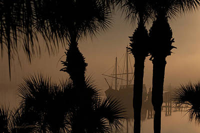 Foggy San Sebastian Sunrise Poster
