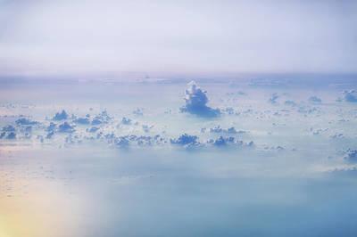 Gentle Haze Above The Sea Poster