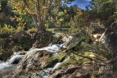 Poster featuring the photograph Gentle Mountain Stream by Tamyra Ayles