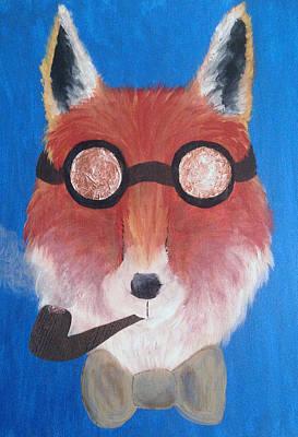 Gentleman Fox Poster by Melissa Mills