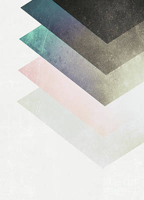 Geometric Layers Poster