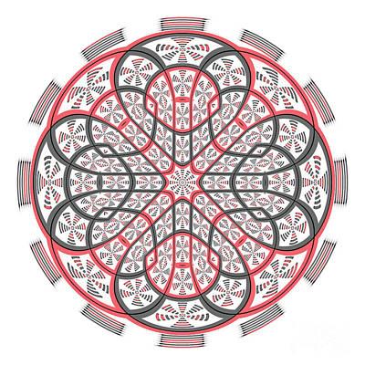 Geometric Mandala Poster