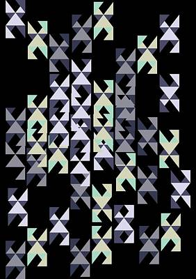 geometric pattern I Poster by Cindy Shim