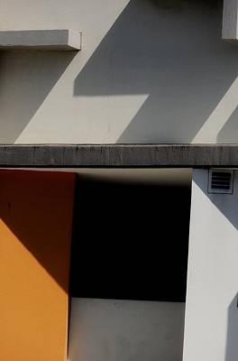 Geometric Shadows Poster