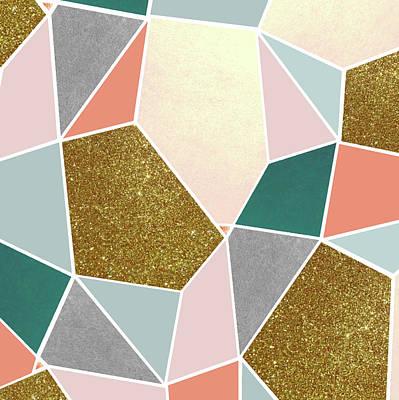 Geometric Poster by Uma Gokhale