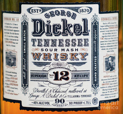 George A. Dickel Poster by Dale Powell