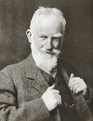 George Bernard Shaw, 1856 Poster
