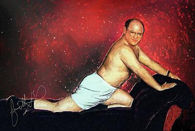 George Costanza Poster by Taylan Apukovska