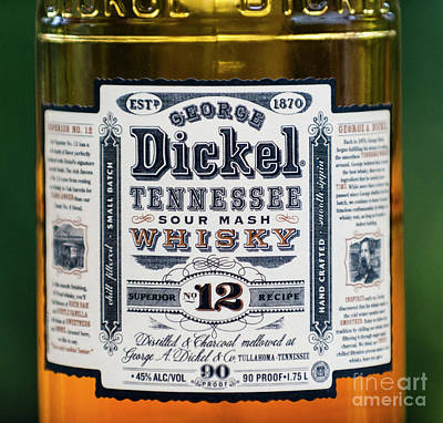 George Dickel Poster by Dale Powell