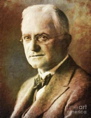 George Eastman, Entrepreneur By Mary Bassett Poster