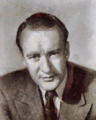 George Sanders Hollywood Actor Poster