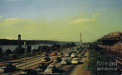 Poster featuring the photograph George Washington Bridge  by Cole Thompson