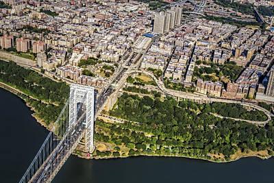 George Washington Bridge Upper Manhattan Poster by Susan Candelario