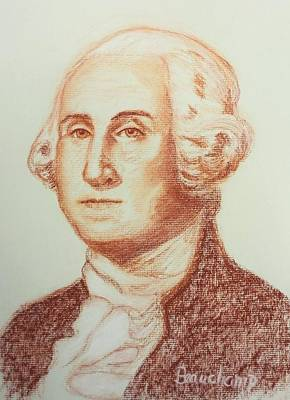 George Washington Poster by Nancy Beauchamp