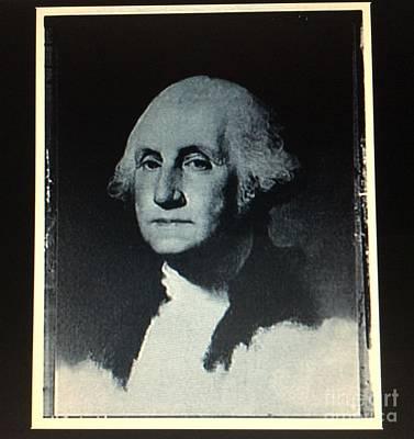 George Washington Poster by Richard W Linford