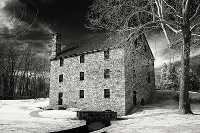 George Washingtons Gristmill Poster
