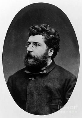 Georges Bizet, French Composer Poster by Science Source