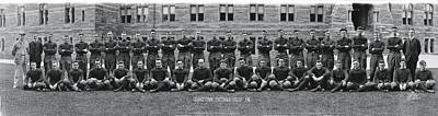 Georgetown U Football Squad Poster by Panoramic Images