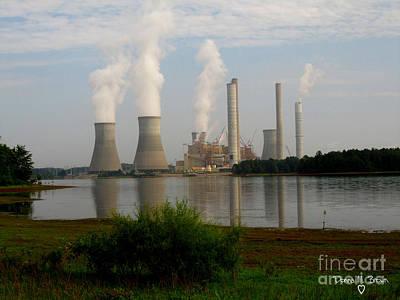 Georgia Power Plant Poster